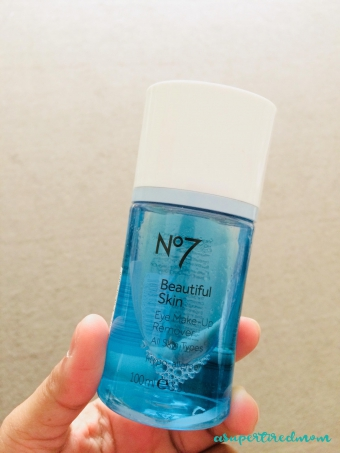 SAY YES TO NO 7 EYE MAKEUP REMOVER-MY CURRENT FAVORITE