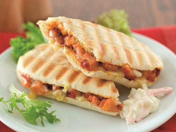 chicken tikka sandwiches